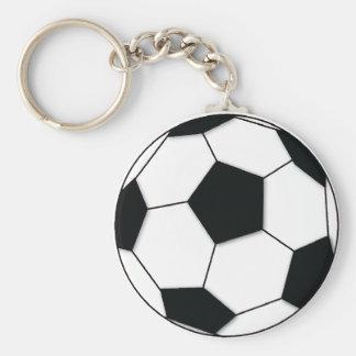 Fußball Standard Runder Schlüsselanhänger