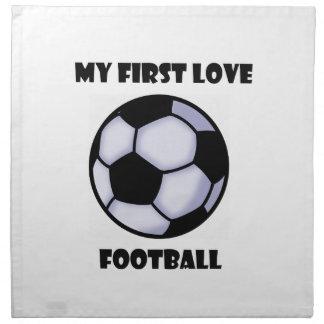Fußball Serviette