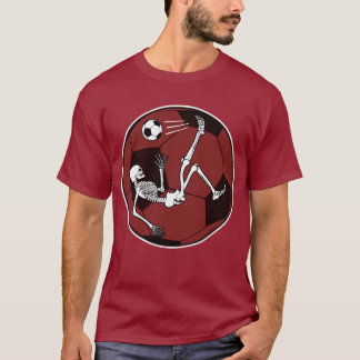 Fußball-Skelett T-Shirt