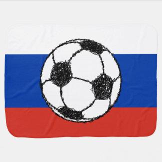 Fußball-Skizze Russa Flaggen-| Puckdecke