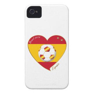 "FUSSBALL ""SPANIEN"" Spain Football Spanish Soccer Case-Mate iPhone 4 Hüllen"