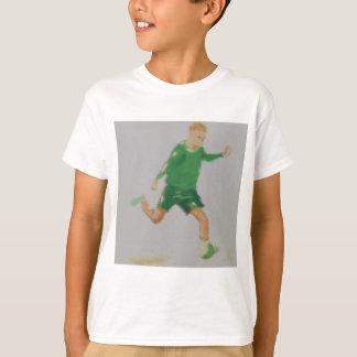 Fußball-Spieler-Kunst T-Shirt