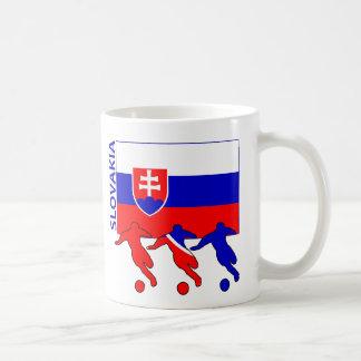 Fußball-Spieler - Slowakei Kaffeetasse
