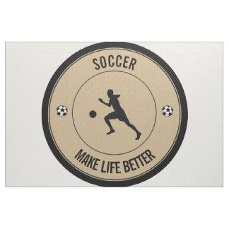 Fußball-Spieler Stoff