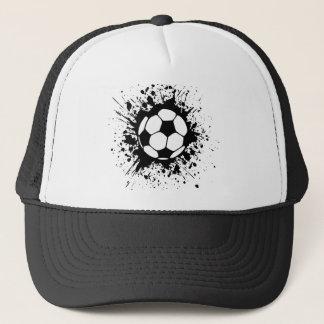 Fußball splat. truckerkappe