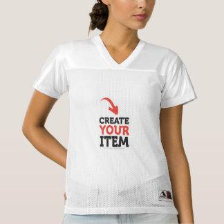Fußball-Sport-Jersey-Shirt-Gewohnheit Frauen Football Trikot