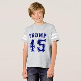 Fußball-T-Stück Donald- Trump45. Präsidenten-Kids T-Shirt