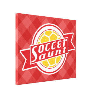 Fußball-Tante Box Canvas Leinwanddruck