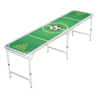 Fußball-Thema Beer Pong Tisch