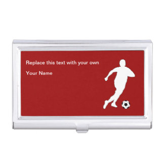 Fußball-Thema-Visitenkarte-Kasten Visitenkarten Etui