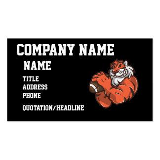 Fußball-Tiger Visitenkarten