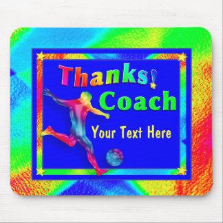 Fußball-Trainer danken Ihnen Mousepad
