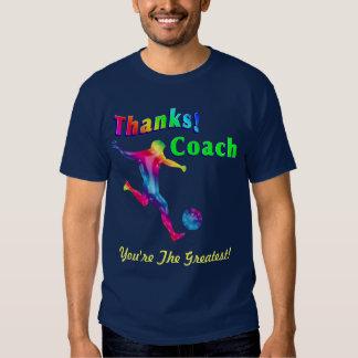 Fußball-Trainer danken Ihnen Shirt