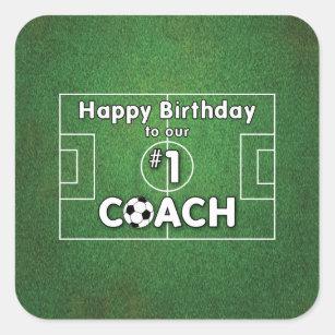 Alles Gute Zum Geburtstag Des Fussballs Aufkleber Zazzle De