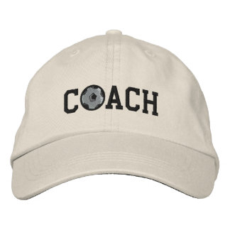 Fußball-Trainer-Kappe Bestickte Baseballcaps