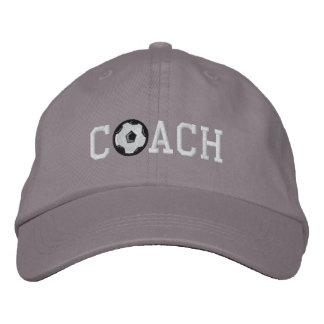 Fußball-Trainer-Kappe Bestickte Baseballmütze