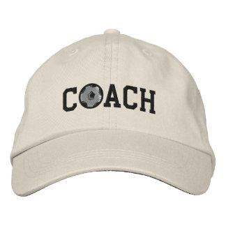 Fußball-Trainer-Kappe Bestickte Caps