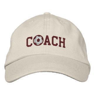 Fußball-Trainer-Kappe Bestickte Mützen