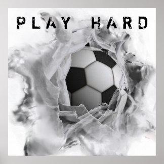 Fußball-Tritt Poster