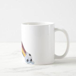 Fußball und Tute Kaffeetasse