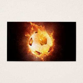 Fußball unter Feuer, Ball, Fußball Visitenkarte