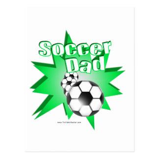 Fußball-Vati Postkarte