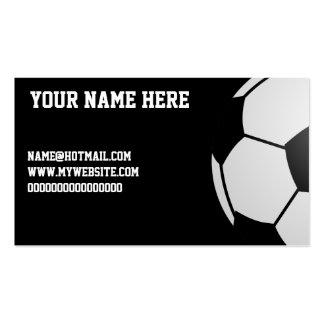 Fußball Visitenkartenvorlagen