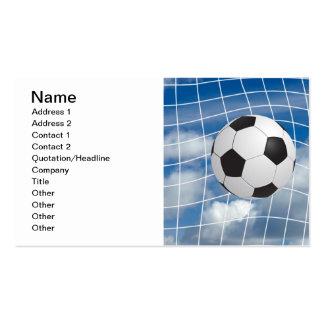 Fußball Visitenkarten Vorlage
