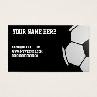 Fußball Visitenkarten