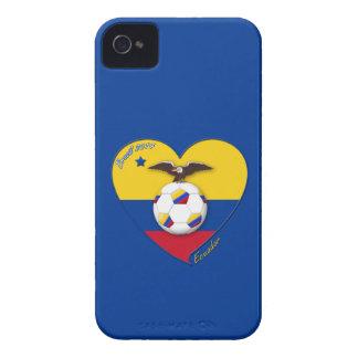 Fußball von ECUADOR. Ecuadorian National Team Socc iPhone 4 Hüllen
