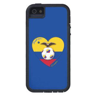 Fußball von ECUADOR. Ecuadorian National Team Socc Schutzhülle Fürs iPhone 5