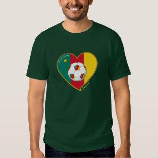 """Fußball von Kamerun, Soccer """"CAMEROON"""", Football Hemden"""