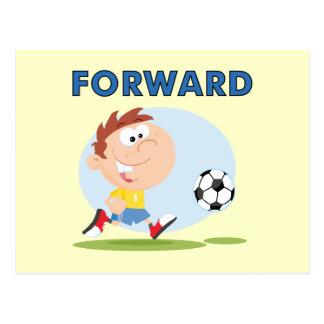 Fußball-VorwärtsT - Shirts und Geschenke Postkarte