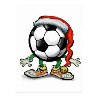 Fußball-Weihnachten Postkarten