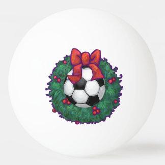 Fußball-Weihnachten Tischtennis Ball