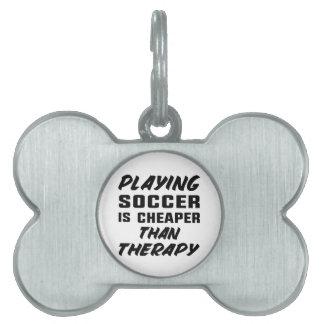 Fußball zu spielen ist billiger als Therapie Tiermarke