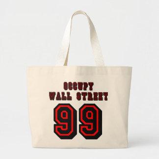 Fußballart: Occupy Wall Street - 99 Jumbo Stoffbeutel