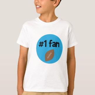 Fußballfan #1 T-Shirt