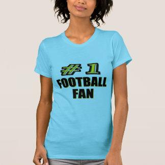Fußballfan der Nr.-eine T-Shirt