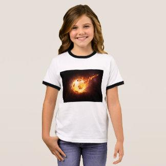 Fußballfan Ringer T-Shirt