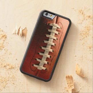 Fußballfan-Spaß-Sport Bumper iPhone 6 Hülle Ahorn