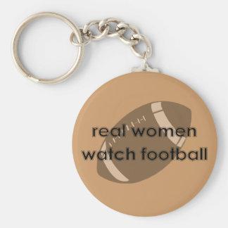 Fußballfan Standard Runder Schlüsselanhänger