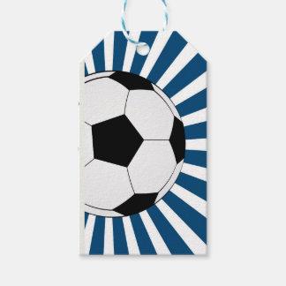 Fußballfußball Geschenk-Umbauten Geschenkanhänger