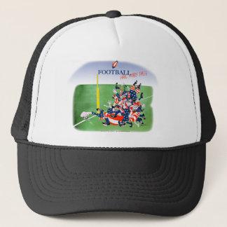 Fußballhagel-Mary-Durchlauf, tony fernandes Truckerkappe