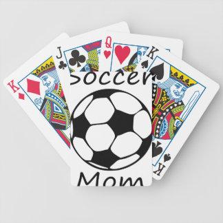 Fußballmamma Bicycle Spielkarten