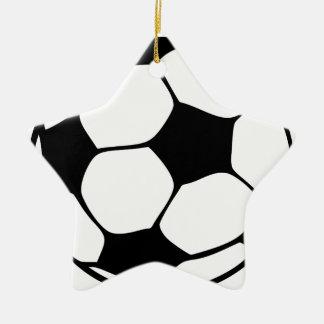 Fußballmamma Keramik Ornament