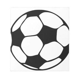 Fußballmamma Notizblock