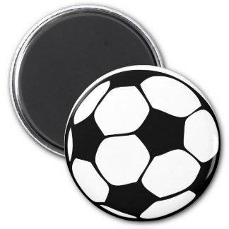 Fußballmamma Runder Magnet 5,7 Cm