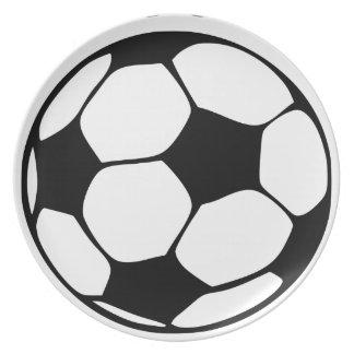 Fußballmamma Teller