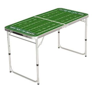 Fußballping-Teich-Tabelle, personalisiert Beer Pong Tisch